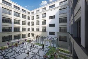 Zrewitalizowana Dzielna 60 nawiązuje do architektury starego Muranowa