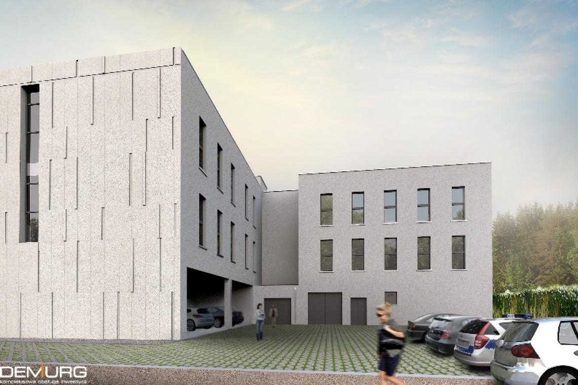 Demiurg nakreślił, a Stawbud buduje biurowiec w Gnieźnie