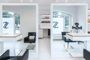 Salon fryzjerski jak showroom spod kreski Musk Collective Design