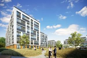 Budowa Business Garden Wrocław według projektu APA Wojciechowski ruszyła