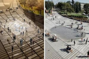 Rybnik po rewitalizacji - wizja architektoniczna a realizacja