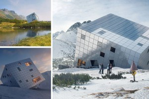 Wielka kostka Rubika leży w Tatrach - to projekt Atelier 8000