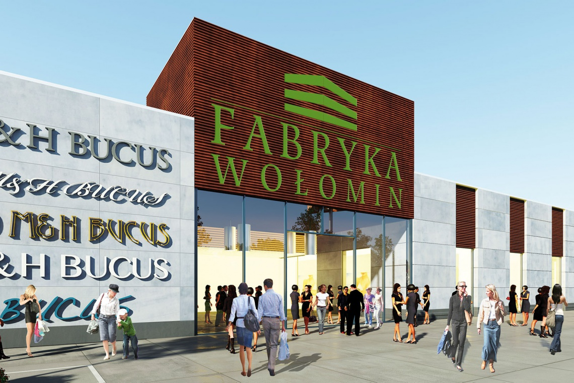 Fabryka Wołomin, według projektu Grupy AT, już na kamieniu