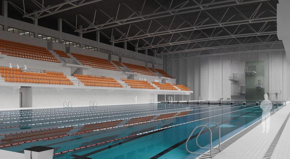 Łódź: Basen olimpijski według projektu Dedeco i Orłowski Szymański Architekci