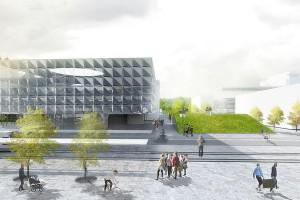 Zobacz projekt pracowni 22architekci na kampus Politechniki Warszawskiej