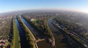 Wrocław z lotu ptaka: Odra się zmienia dla mieszkańców miasta