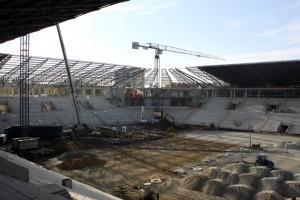 Tajniki technologii przyszłej murawy stadionu w Tychach