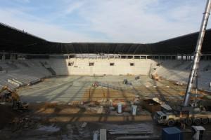 Najnowsze zdjęcia z budowy stadionu GKS Tychy