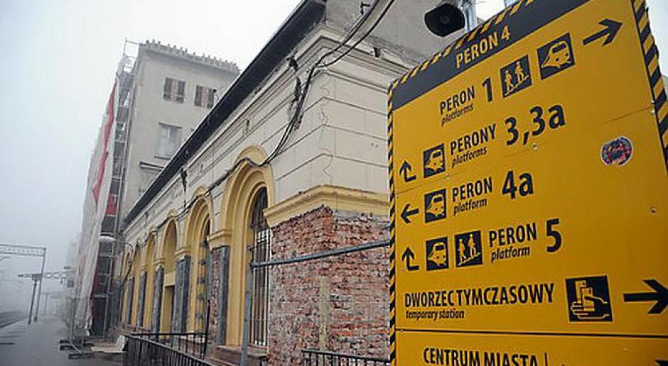 Co nowego na budowie dworca w Bydgoszczy