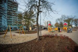 Zielona enklawa projektu LandAR w centrum Płocka
