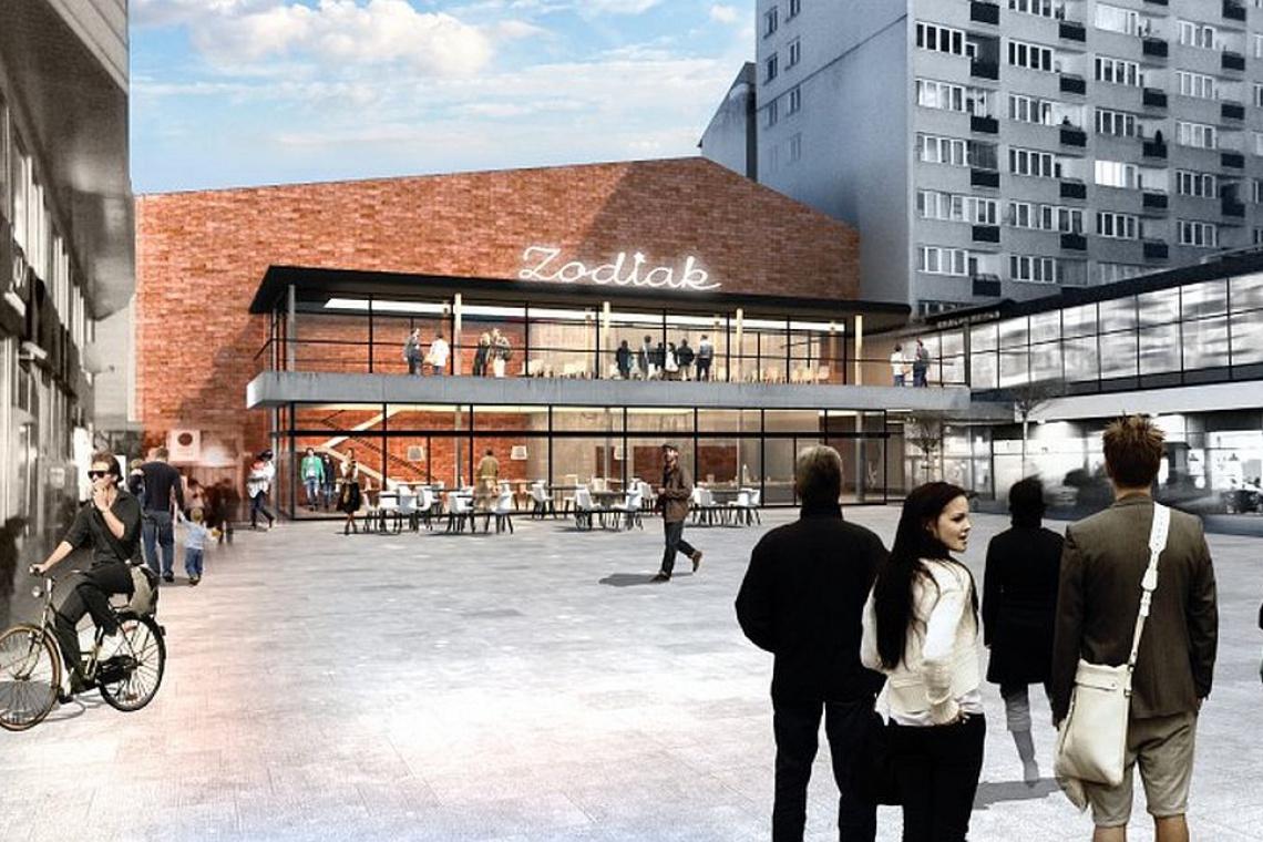 Pawilon Architektury ZODIAK z pozwoleniem na budowę