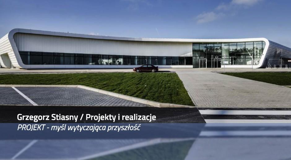 Grzegorz Stiasny z wykładem: Projekt - myśl wytyczająca przyszłość