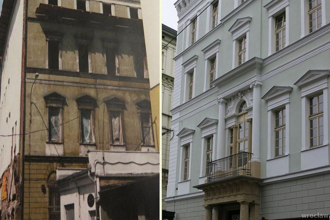 Gotycko-renesansowa kamienica we Wrocławiu zrewitalizowana