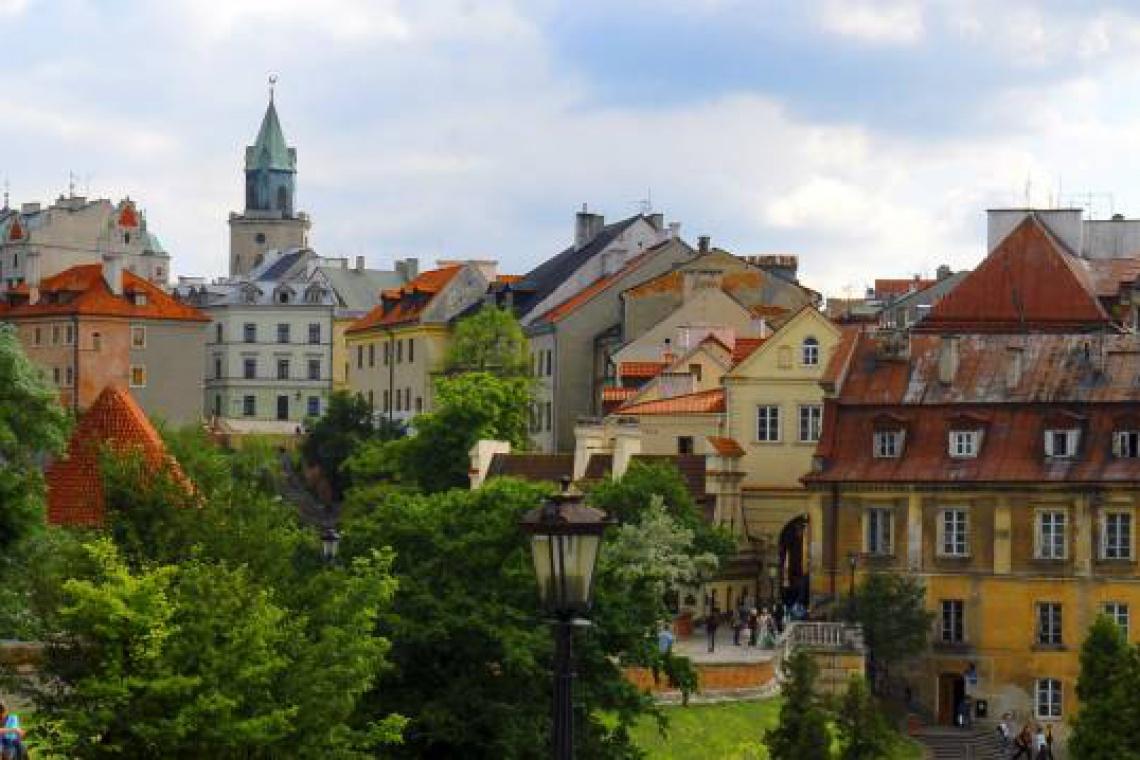 Lublin wyróżniony za zieleń w mieście