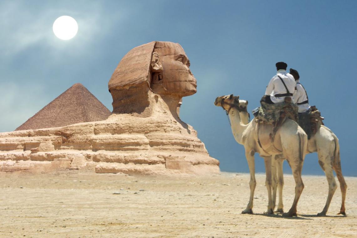 Egipski Sfinks przeszedł remont. Następne będą piramidy