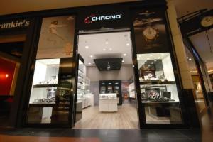 Salon z zegarkami marki Chrono w zupełnie innym świetle