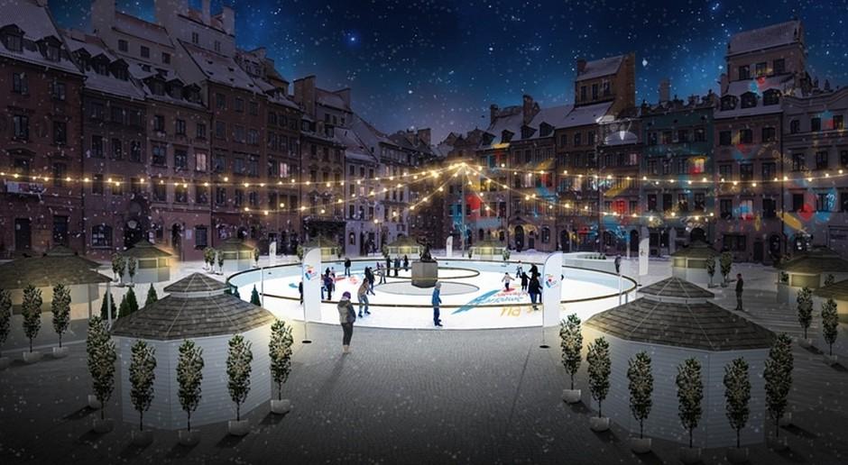 Tak będzie wyglądało lodowisko na Rynku Starego Miasta
