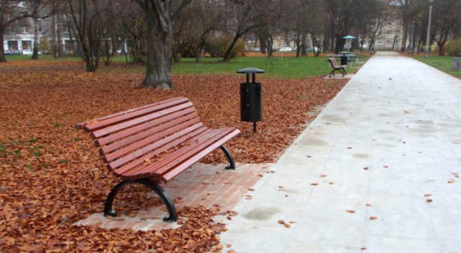 Park Ratuszowy w Krakowie odzyskuje blask