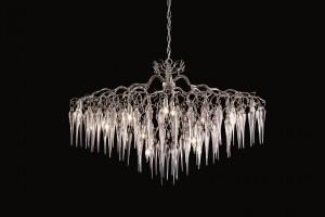 Te unikalne lampy to połączenie rzeźby i technologii
