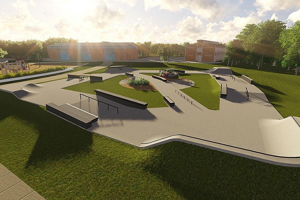Projekt skateparku z prawdziwego zdarzenia dla chorzowskiej młodzieży