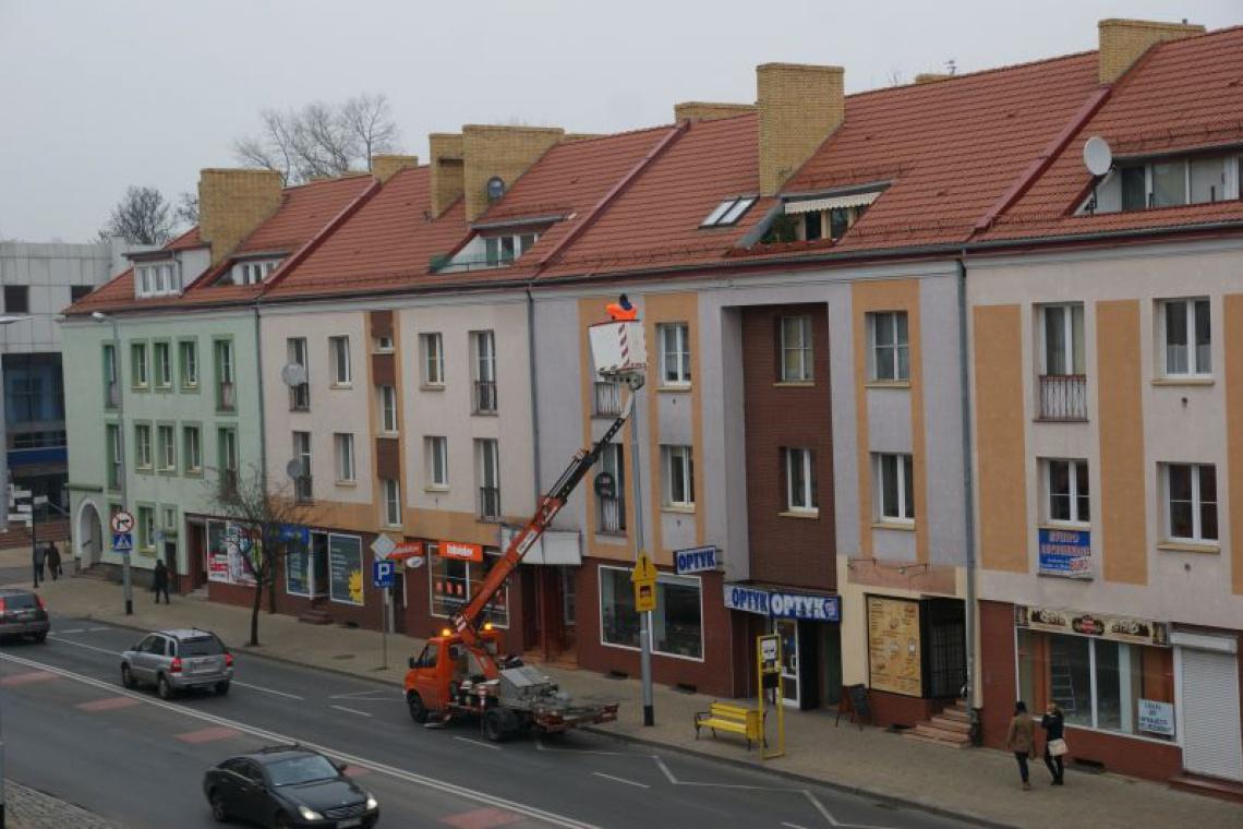 Ulice w Koszalinie oświetlą lampy z oprawami LED