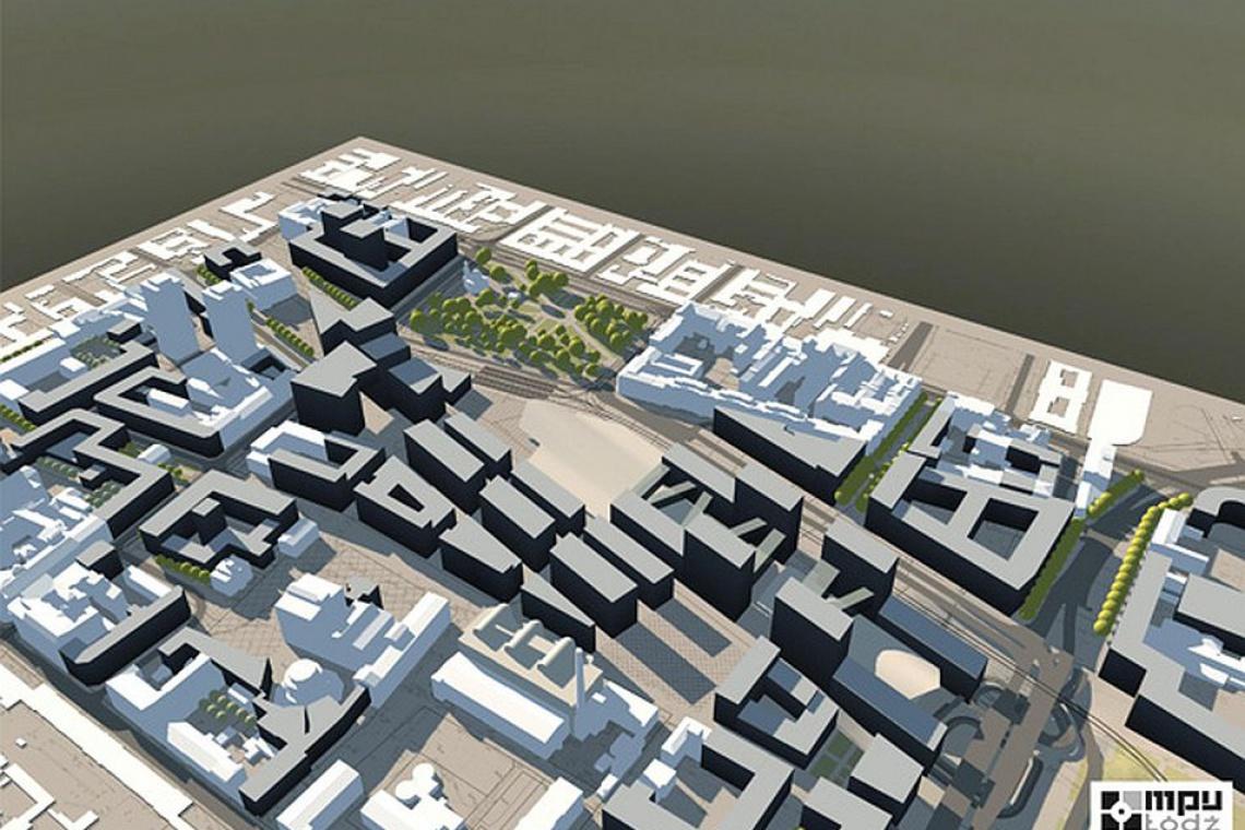 Ponad 50 projektów w ramach Nowego Centrum Łodzi