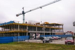 Zobacz jak powstaje biurowiec przy Puławskiej projektu 22Architekci