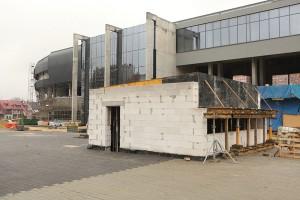 Nowe zdjęcia z budowy stadionu GKS Tychy z koncepcją Perbo-Projekt