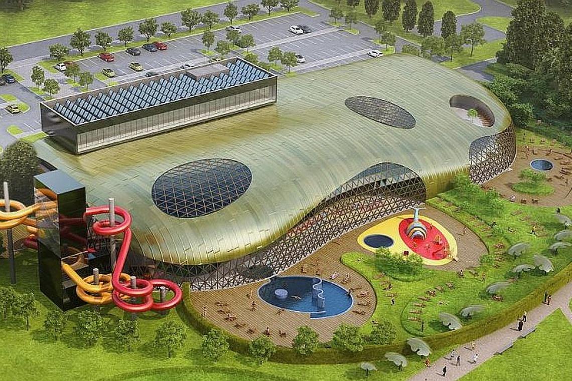 Park Wodny Koszalin projektu Płaskowicki i Partnerzy otwarty
