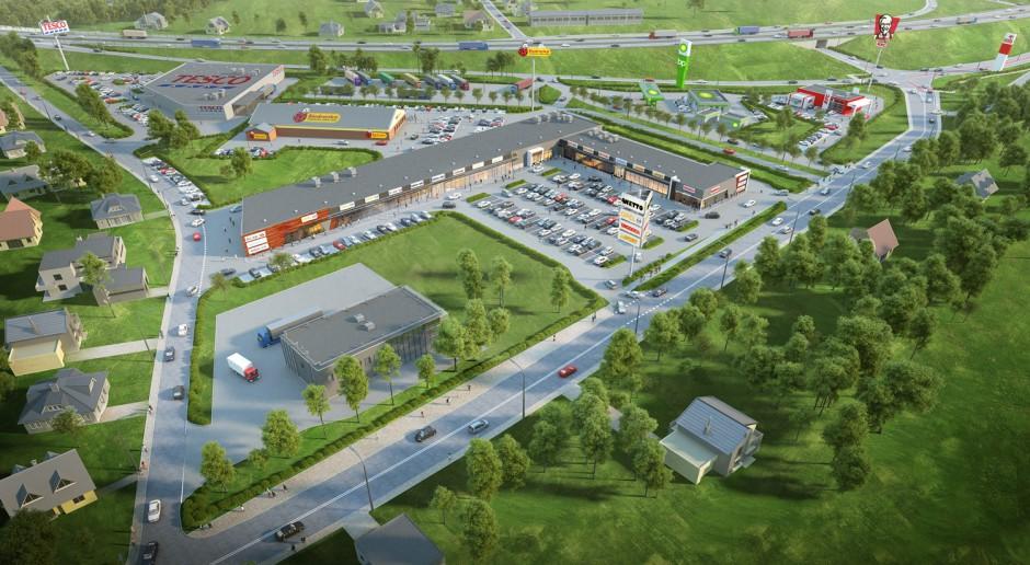Nowy park handlowy w Płońsku wykonało PBM Lachendrowicz