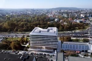 Biurowiec Axis zaprojektowała pracownia Artur Jasiński i Wspólnicy