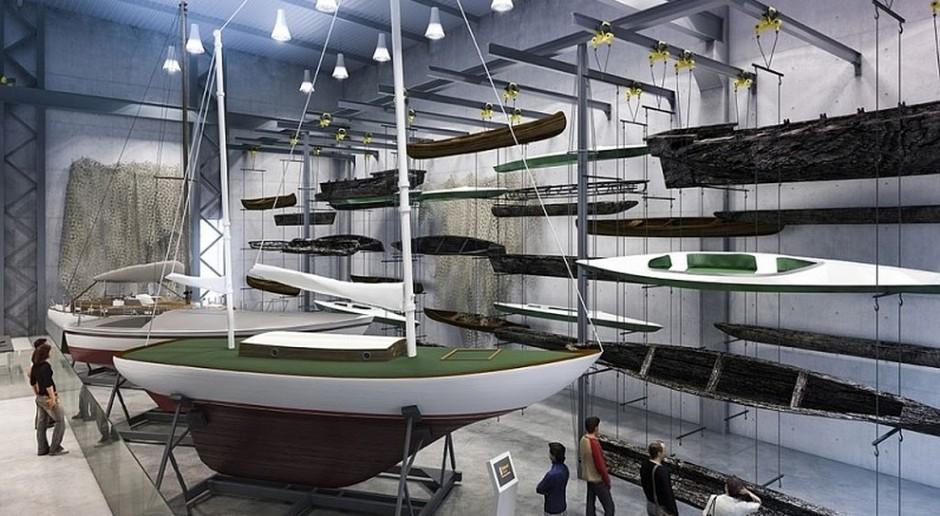 Centrum Konserwacji Wraków Statków z kamieniem węgielnym