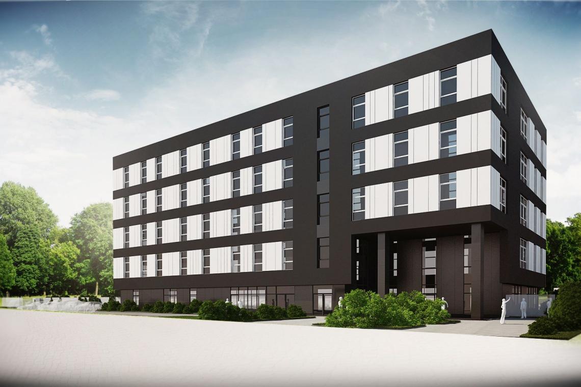 Trwa budowa biurowca IDEA Przestrzeń Biznesu