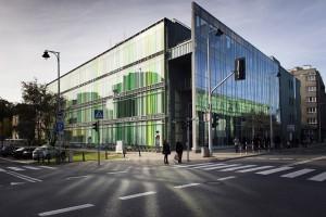 Nowoczesna architektura Uniwersytetu Warszawskiego