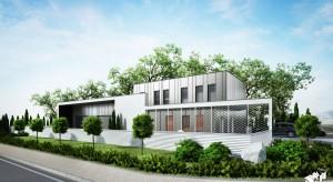 Architekci z DNA Works na budowie biurowca w Katowicach