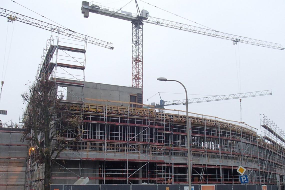Co nowego na budowie galerii Świnoujście według projektu FBA