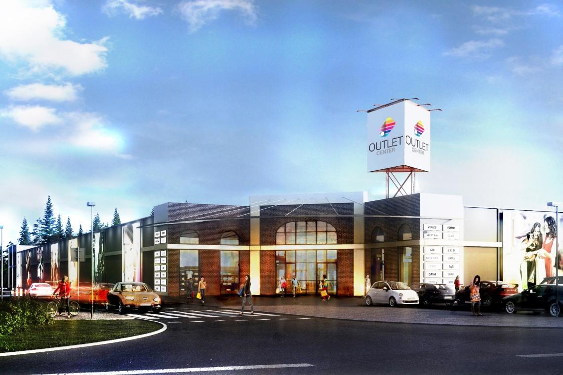 Outlet Center Lublin, czyli zielona architektura i industrialny klimat