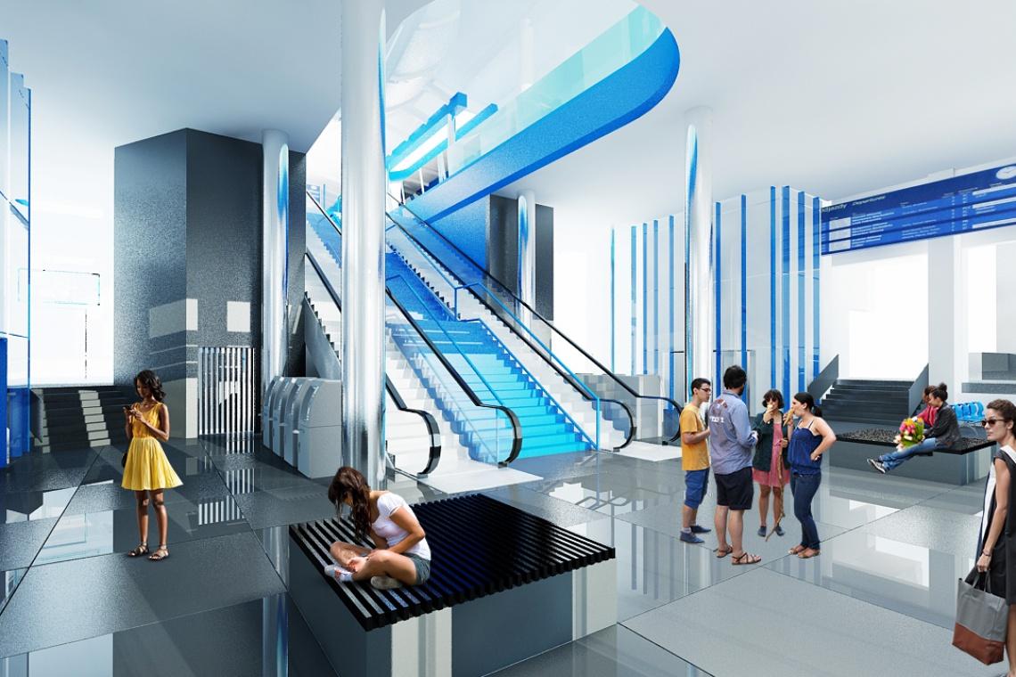 Modernizują dworzec Szczecin Główny - będzie kładka i nowoczesny budynek