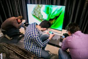 Telewizor z kryształami Swarovskiego - design na styku technologii i sztuki