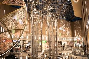 Zobacz jak świąteczna iluminacja rozświetliła Pasaż Grunwaldzki