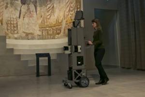 Wnętrze Muzeum Narodowego w Google Street View