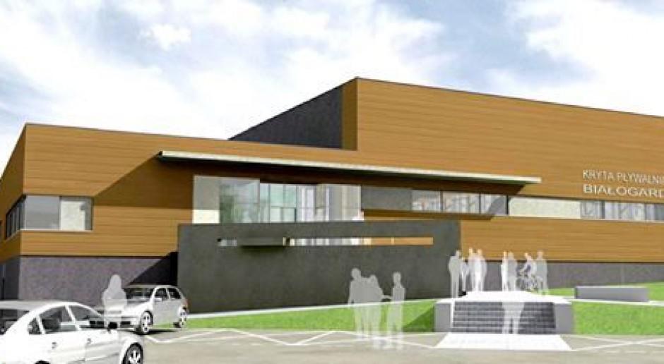 Dominiczak & Szczuraszek zaprojektowali pływalnię w Białogardzie