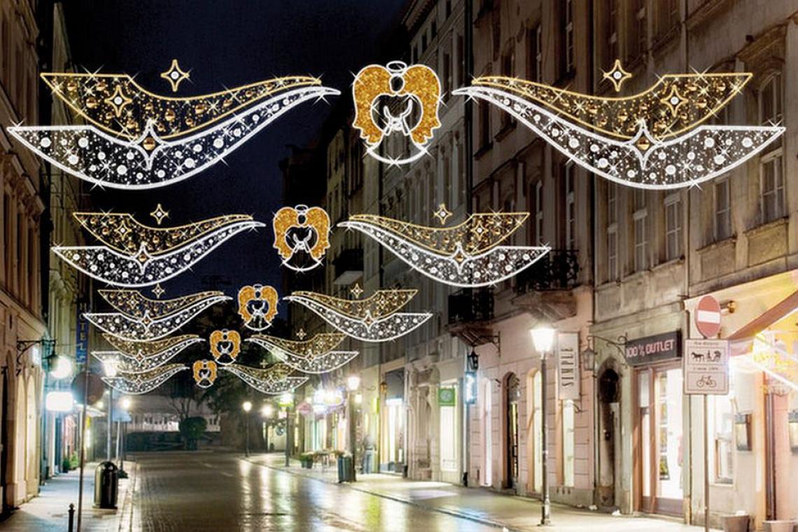 Kraków też stroi się na święta