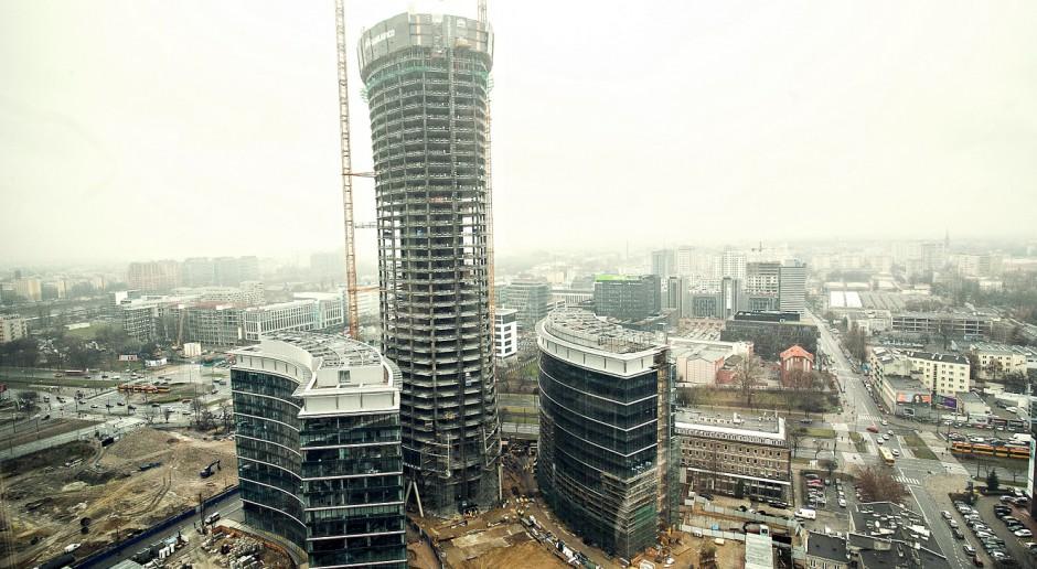 Biurowiec Warsaw Spire będzie miał świąteczną iluminację?