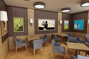 Sportowy design według studia Modus w Interferie Sport Hotel Bornit
