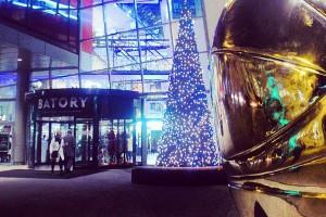 Centrum handlowe Batory w świątecznym wydaniu