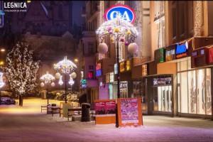 Świąteczna iluminacja w Legnicy