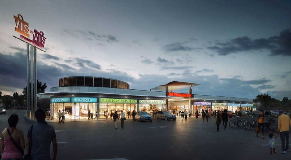 Centrum handlowe Vis à Vis projektu Diehl Architekci już otwarte