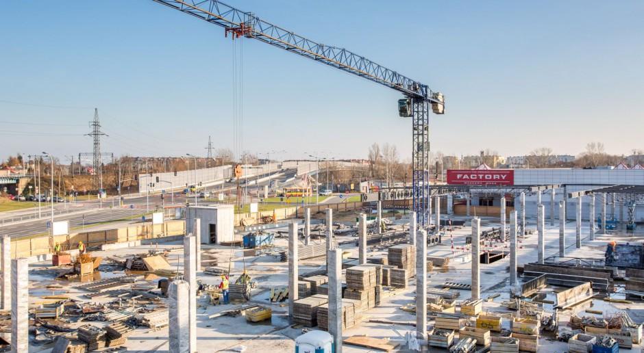Zobacz fotorelację z rozbudowy Factory Warszawa Ursus