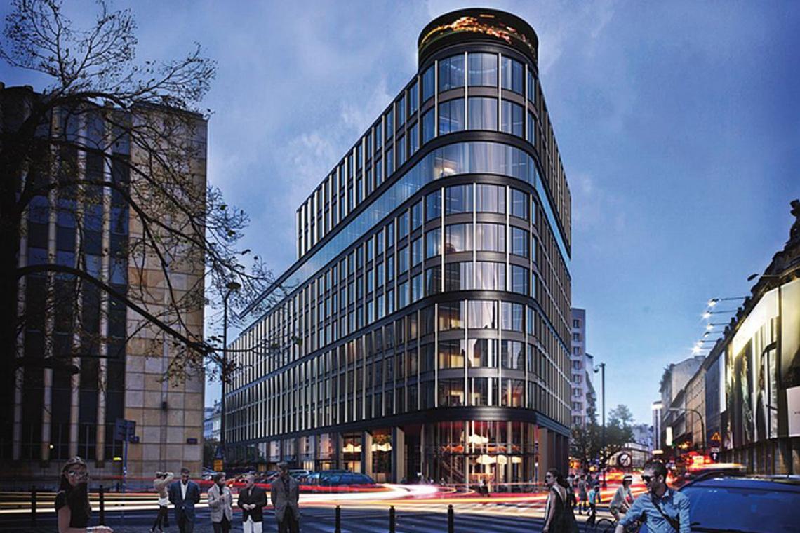 Biurowiec Astoria Projektu Epstein Powstaje W Centrum Warszawy